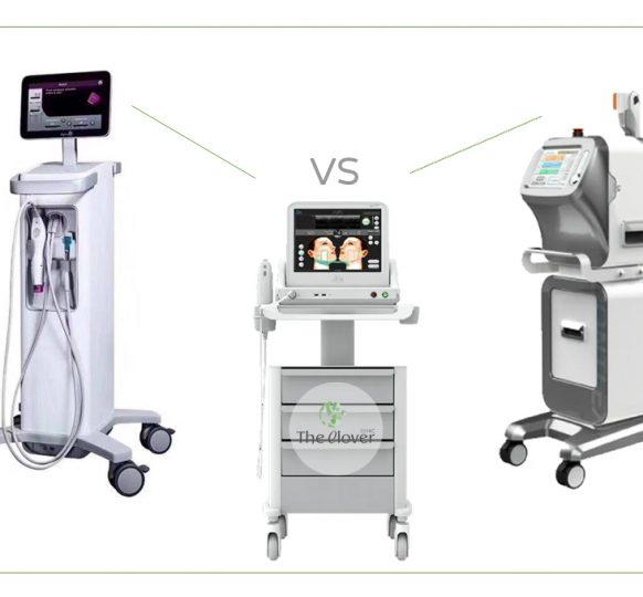 Botox vs ไหม vs HIFU vs Ulthera vs Thermage