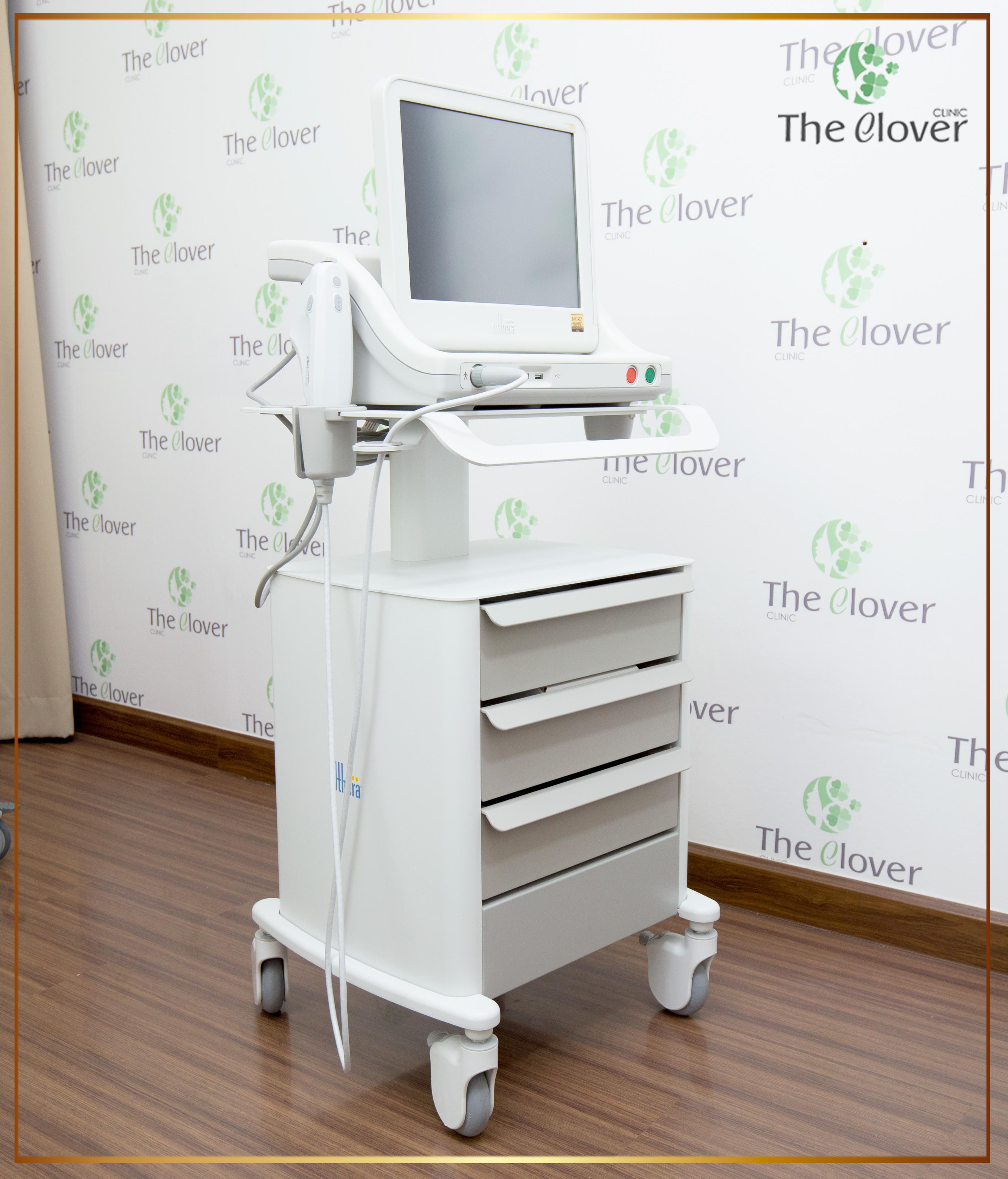 Ulthera อัลเทอร่า รุ่นใหม่ของ The Clover Clinic